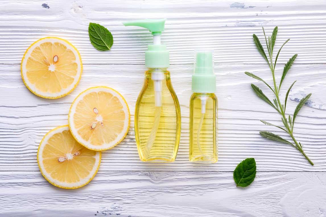 lemon skin care
